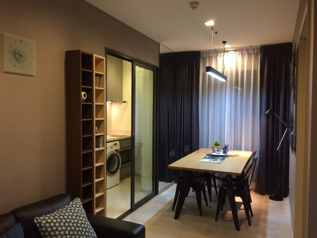 BKKMOVE Agency's 35 sqm Baht35,000/month 1 bedroom fully furnished. 10