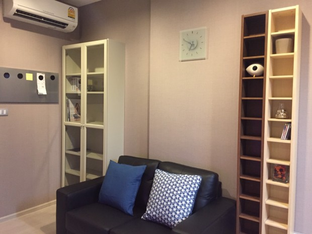 BKKMOVE Agency's 35 sqm Baht35,000/month 1 bedroom fully furnished. 8