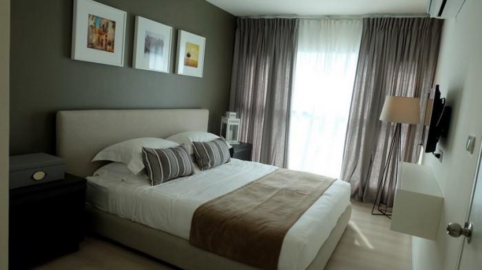 BKKMOVE Agency's Aspire Sukhumvit 48 condo for rent well price!! spaious room 2bedroom 2bathroom 54sqm. 3