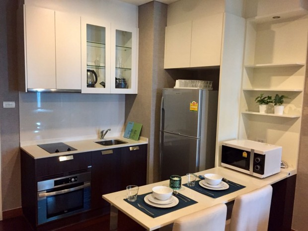 BKKMOVE Agency's Ivy Thonglor condo for rent well price!! spaious room 1bedroom 1bathroom 43sqm. 1