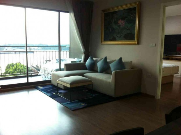 BKKMOVE Agency's U Delight Residence Riverfront Rama 3 85 sqm 2B/2B Fully Furnished Rent 47,000 a month NEW ROOM 2