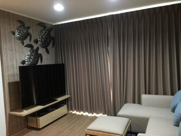 BKKMOVE Agency's U Delight Residence Riverfront Rama 3 85 sqm 2B/2B Fully Furnished Rent 47,000 a month NEW ROOM 18