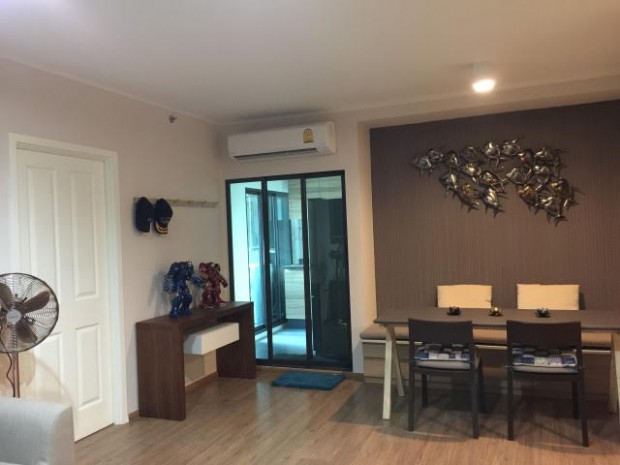 BKKMOVE Agency's U Delight Residence Riverfront Rama 3 85 sqm 2B/2B Fully Furnished Rent 47,000 a month NEW ROOM 16