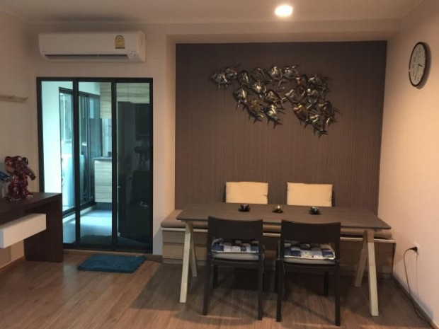 BKKMOVE Agency's U Delight Residence Riverfront Rama 3 85 sqm 2B/2B Fully Furnished Rent 47,000 a month NEW ROOM 15