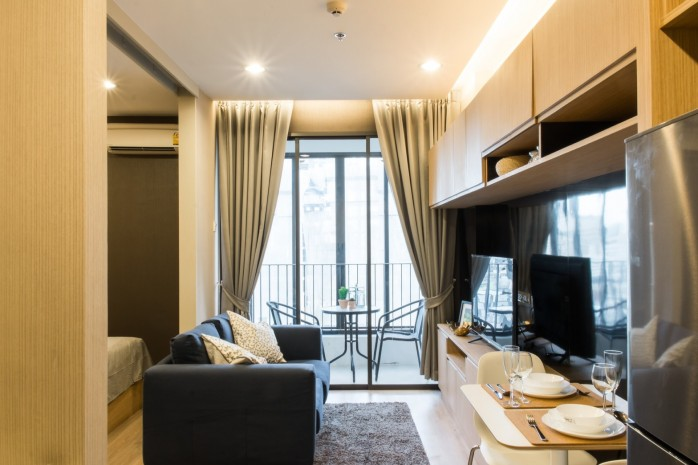 BKKMOVE Agency's Ideo Q Ratchathewi condo for rent well price!! spaious room 1bedroom 1bathroom 34sqm 3