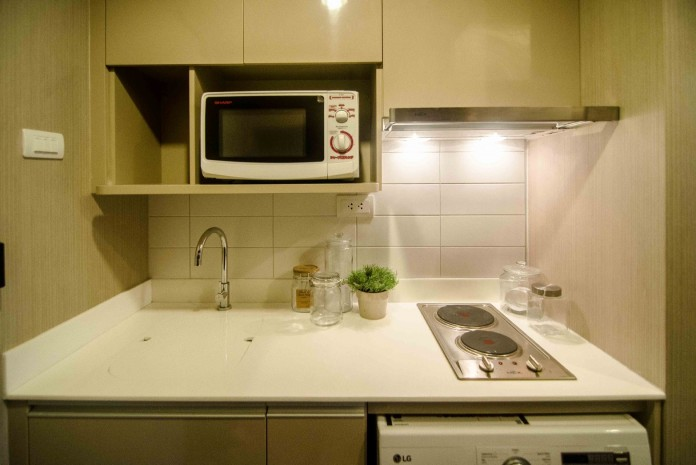 BKKMOVE Agency's Ideo Q Ratchathewi condo for rent well price!! spaious room 1bedroom 1bathroom 34sqm 2