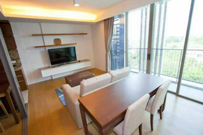 BKKMOVE Agency's Well price! Condo for rent near BTS High floor 2