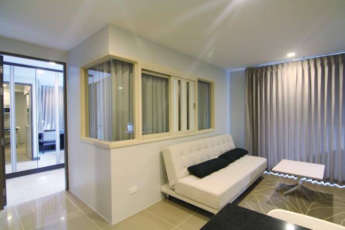 BKKMOVE Agency's Mirage Sukhumvit 27 condo for rent/sale well price!! spaious room 1bedroom 1bathroom 45.55sqm. 4