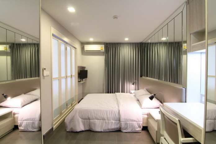 BKKMOVE Agency's Mirage Sukhumvit 27 condo for rent/sale well price!! spaious room 1bedroom 1bathroom 35.7sqm. 4
