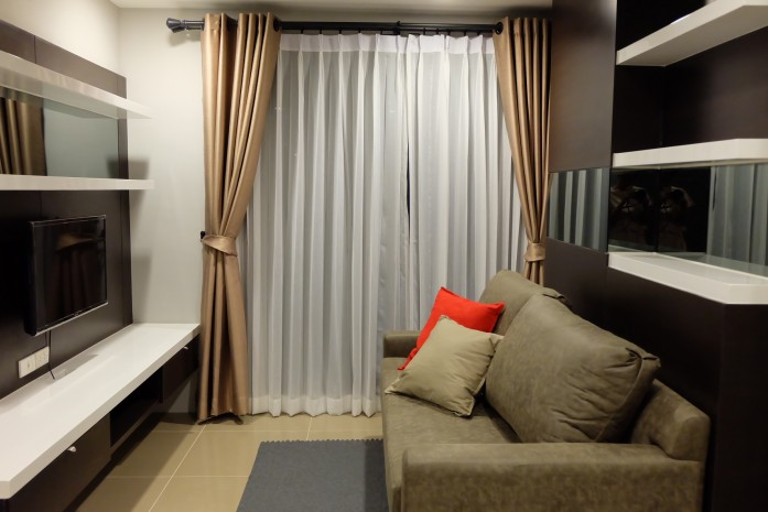 BKKMOVE Agency's Mirage Sukhumvit 27 condo for rent well price!! spaious room 1bedroom 1bathroom 35.7sqm. 2