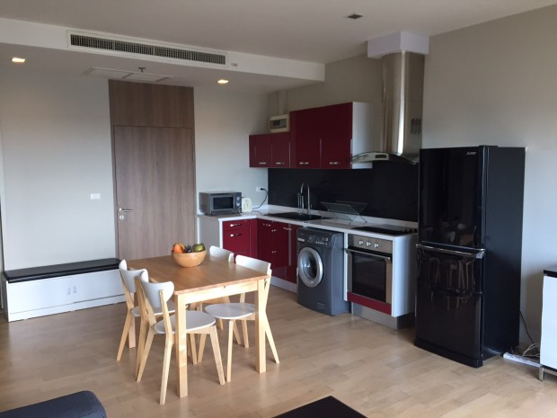 BKKMOVE Agency's Noble Reveal condo for rent well price!! spaious room 2bedroom 2bathroom 70sqm. 1