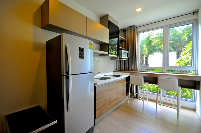 BKKMOVE Agency's Rhythm Sukhumvit 50 condo for rent well price!! spaious room 1bedroom 1bathroom 35sqm. 3