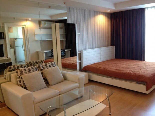 BKKMOVE Agency's Symphny Sukhumvit condo for rent well price!! spaious room Studio 1bathroom 35sqm. 2