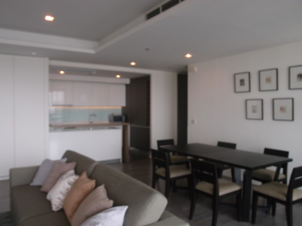 BKKMOVE Agency's The River condo for rent well price!! spaious room 3bedroom 3bathroom 145sqm. 3