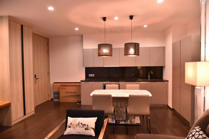 BKKMOVE Agency's premium condo by Sansiri for rent 2 bed room high rise  luxury and convenient condo 82.63 sqm. 10
