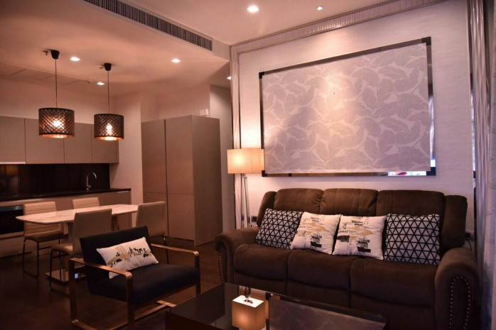 BKKMOVE Agency's premium condo by Sansiri for rent 2 bed room high rise  luxury and convenient condo 82.63 sqm. 7