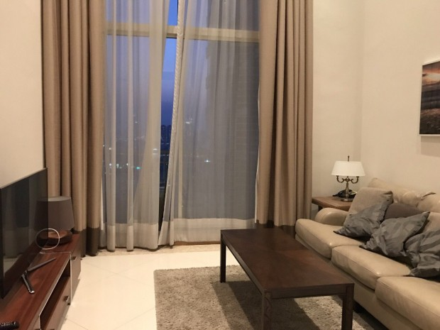 BKKMOVE Agency's 100sqm Luxury, Elegant Two Bedrooms (Duplex)  high rise Condo for rent at The Empire Place Sathorn 11