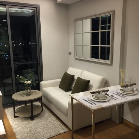 BKKMOVE Agency's 32sqm Convenient, Elegant One Bedroom Condo to let at The Lumpini 24 9