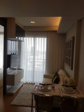 BKKMOVE Agency's 32sqm Convenient, Elegant One Bedroom Condo to let at The Lumpini 24 4