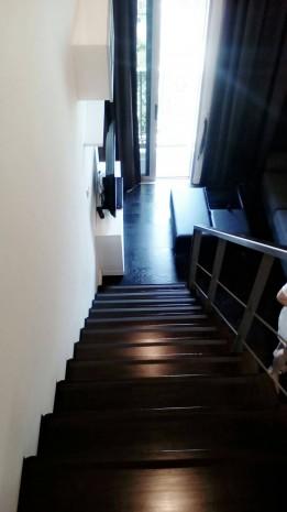 BKKMOVE Agency's Ashton Morph Sukhumvit 38 33sqm Duplex  Fully Furnish view Thonglor Rent 27K For Sale 8.3M 8