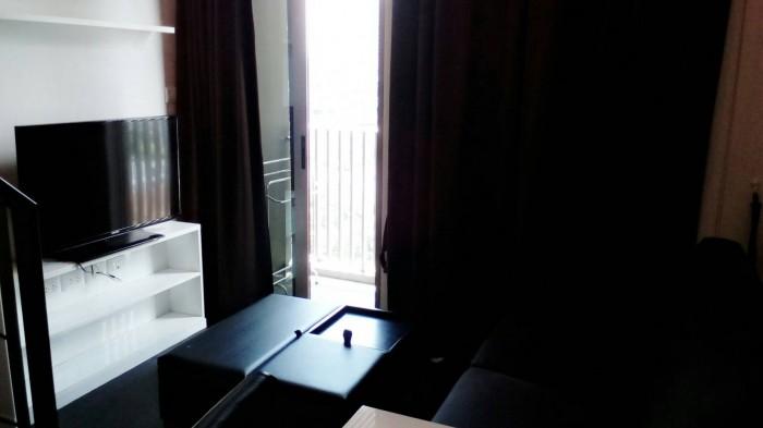 BKKMOVE Agency's Ashton Morph Sukhumvit 38 33sqm Duplex  Fully Furnish view Thonglor Rent 27K For Sale 8.3M 5