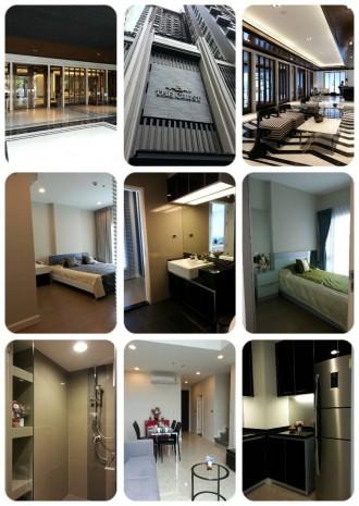 BKKMOVE Agency's The Crest 34 96sqm Duplex 2B/2B  Fully Furnished 4แอร์ 2TV ตู้เย็น เตาไฟฟ้า ไมรโครเวฟ เครื่องซักผ้า ที่จอดรถ2คัน Rent 70K 1