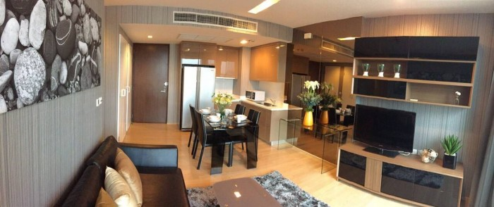 BKKMOVE Agency's Siri at Sukhumvit (For Rent)  70 Sqm. 2 Bedrooms / 2  Bathrooms(with Bathtub)  High Floor South View Fully Furnished Washlet Set  Rent  63,000.-/month Nego 5
