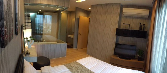 BKKMOVE Agency's Siri at Sukhumvit (For Rent)  70 Sqm. 2 Bedrooms / 2  Bathrooms(with Bathtub)  High Floor South View Fully Furnished Washlet Set  Rent  63,000.-/month Nego 3