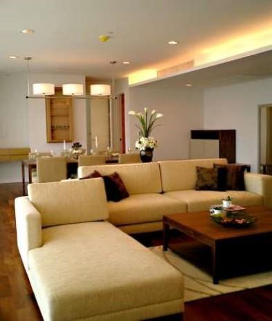 BKKMOVE Agency's 215sqm Elegant, High Rise Three bedroom + 1 study  Apartment to let at Baan Jamjuree 16