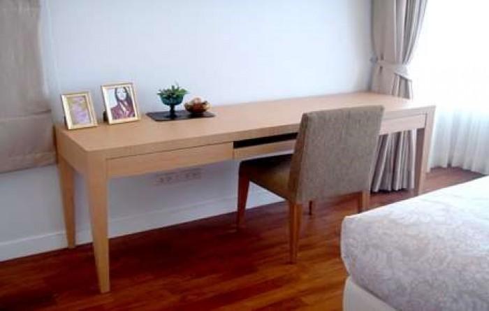 BKKMOVE Agency's 215sqm Elegant, High Rise Three bedroom + 1 study  Apartment to let at Baan Jamjuree 1