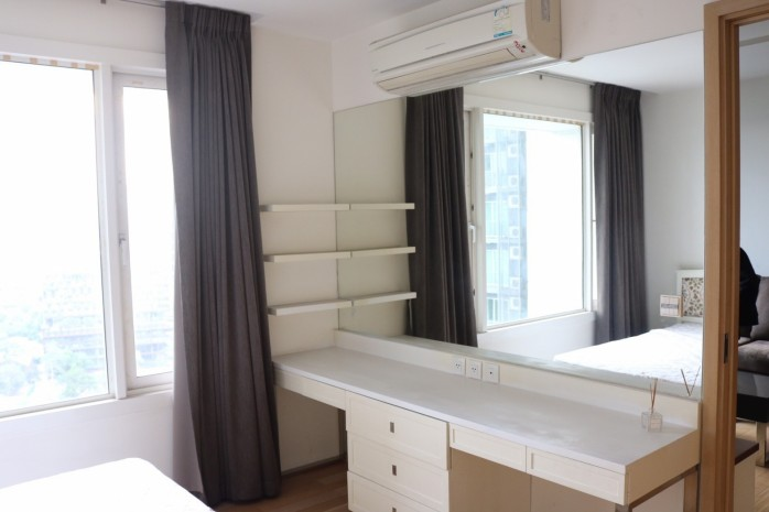 BKKMOVE Agency's 51sqm High Rise, Fully Furnished One Bedrooms Condo to let at Siri @ Sukhumvit 38 7