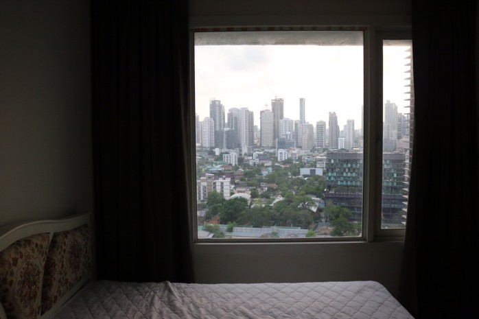 BKKMOVE Agency's 51sqm High Rise, Fully Furnished One Bedrooms Condo to let at Siri @ Sukhumvit 38 6