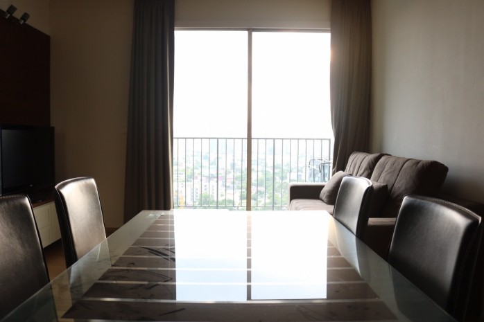 BKKMOVE Agency's 51sqm High Rise, Fully Furnished One Bedrooms Condo to let at Siri @ Sukhumvit 38 3