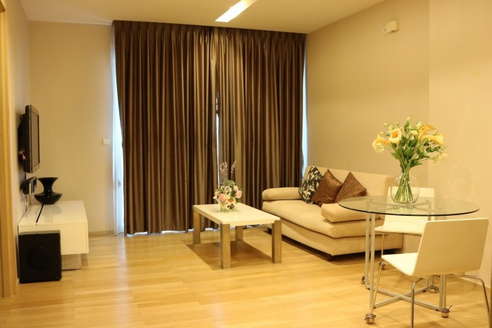 BKKMOVE Agency's 50sqm Low rise,Beautiful, Nice Decorated 1 bedroom Condo to let at Siri @ Sukhumvit 38 8