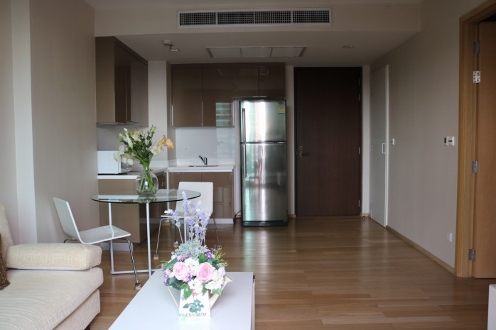 BKKMOVE Agency's 50sqm Low rise,Beautiful, Nice Decorated 1 bedroom Condo to let at Siri @ Sukhumvit 38 6