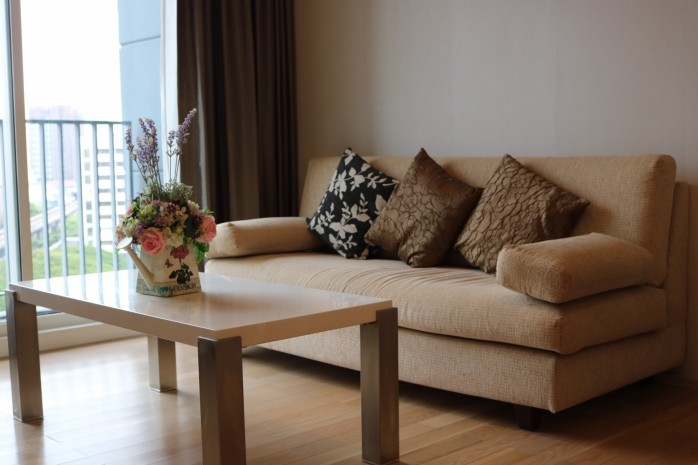 BKKMOVE Agency's 50sqm Low rise,Beautiful, Nice Decorated 1 bedroom Condo to let at Siri @ Sukhumvit 38 1