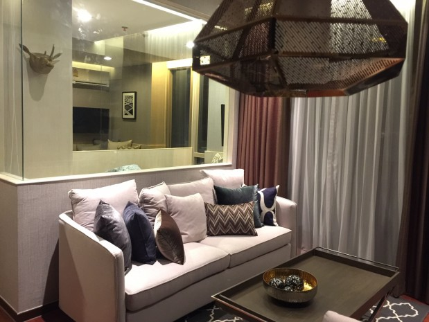 Ashton Morph Sukhumvit 38 56.25 sqm 1 bed plus  Fully furnished South View Rent 58,000