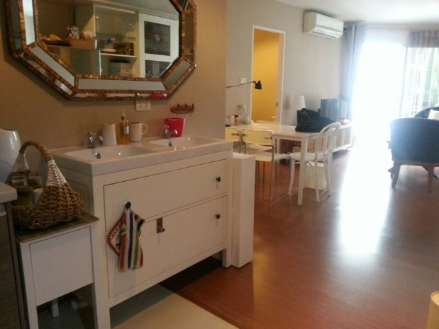 BKKMOVE Agency's Spacious, Good price 2 bedroom/ 1 bathroom 70 sqm  Condo for rent at Belle Grand Rama 9 15