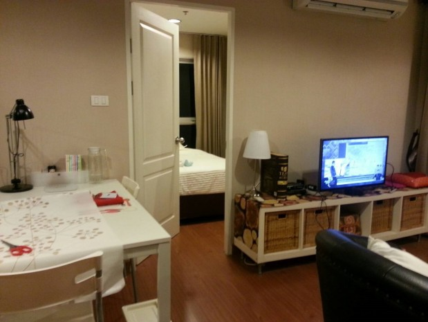 BKKMOVE Agency's Spacious, Good price 2 bedroom/ 1 bathroom 70 sqm  Condo for rent at Belle Grand Rama 9 12