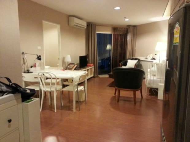 BKKMOVE Agency's Spacious, Good price 2 bedroom/ 1 bathroom 70 sqm  Condo for rent at Belle Grand Rama 9 11