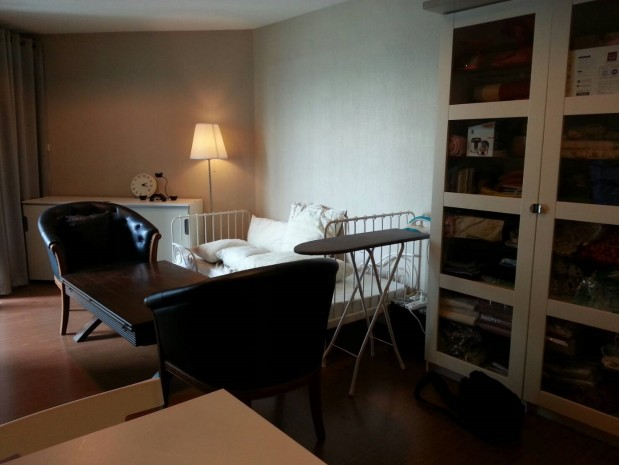 BKKMOVE Agency's Spacious, Good price 2 bedroom/ 1 bathroom 70 sqm  Condo for rent at Belle Grand Rama 9 8