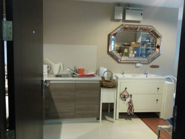 BKKMOVE Agency's Spacious, Good price 2 bedroom/ 1 bathroom 70 sqm  Condo for rent at Belle Grand Rama 9 5