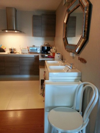 BKKMOVE Agency's Spacious, Good price 2 bedroom/ 1 bathroom 70 sqm  Condo for rent at Belle Grand Rama 9 4