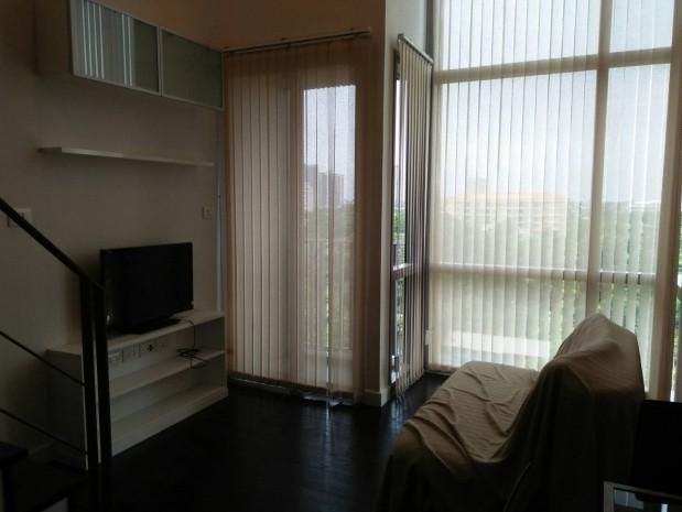 BKKMOVE Agency's Ashton Morph  Sukhumvit 38 37sqm Duplex  Corner South View  Rent 30K 5