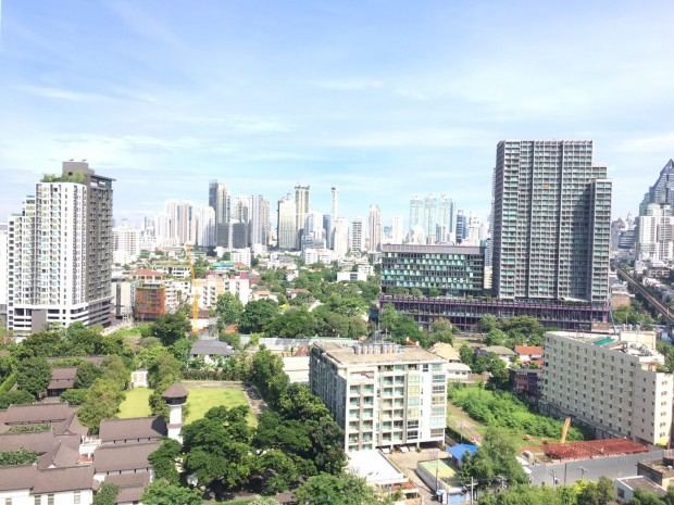 Siri@ Sukhumvit 38 51sqm 1Bed/1Bath BTS View Hight Floor Nice Unit Rent 40k
