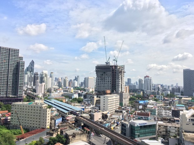 Siri @ Sukhumvit 38 51 sqm 1Bed/1Bath BTS View Hight Floor Rent 42k