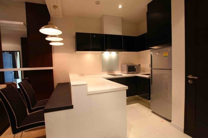 BKKMOVE Agency's 45sqm Good price!! Cozy Convenient One bedroom One bathroom One livingroom condo for rent at Eight Thonglor Residence 3