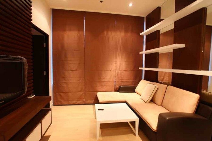 BKKMOVE Agency's 45sqm Good price!! Cozy Convenient One bedroom One bathroom One livingroom condo for rent at Eight Thonglor Residence 1
