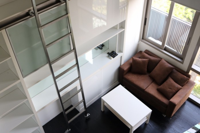 BKKMOVE Agency's 68sqm Well price! Convenient Duplex room for rent/sale at Ashton Morph 38 1