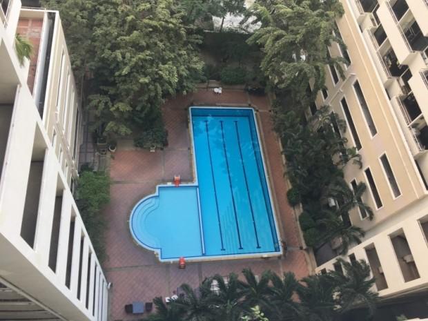 BKKMOVE Agency's 35sqm Good view! Good price! 1 bedroom 1 bathroom rent for Saranjai Mansion 7